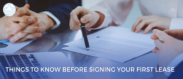 What to Know Before Signing The First Lease? thumbnail